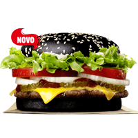 Hambúrguer preto do Burger King causa efeito colateral